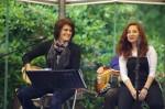 Gülten und Yasen. Auftritt viaDem Kasseler Bergpark-Konzerte 2014