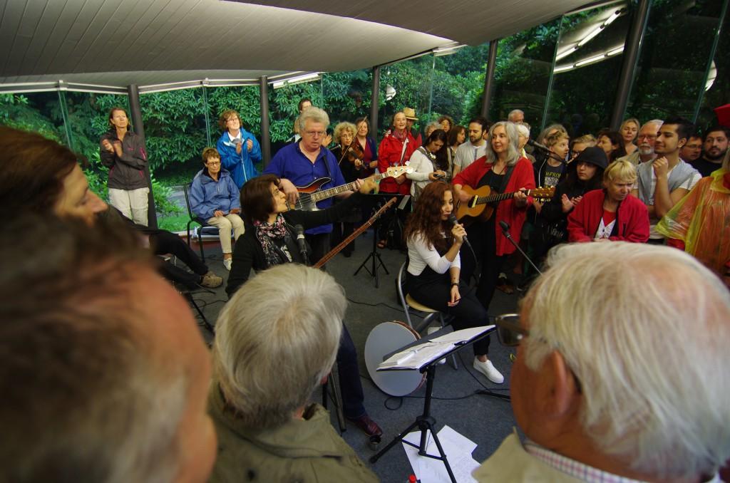 Auftritt viaDem, Kasseler Bergpark-Konzerte 2014